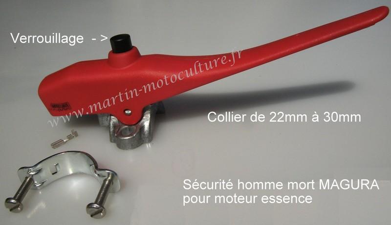 levier de s u00e9curit u00e9 pour motoculteur sur  martin-motoculture fr